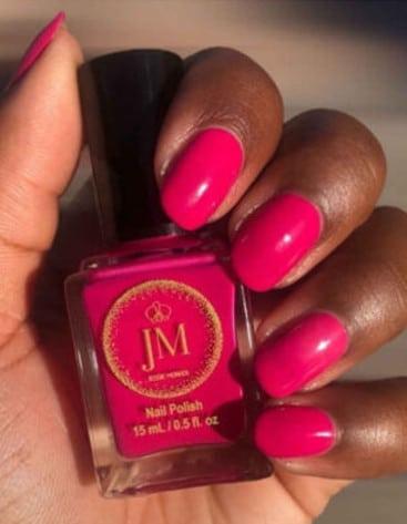 Jessie Monroe Pink Nails